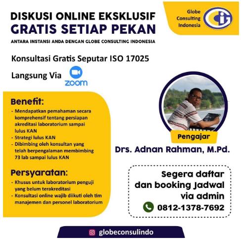Pletihan gratis eksklusif ISO 17025