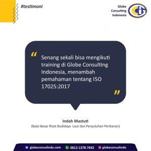 Testimoni - Konultan dan Training ISO 17025 2