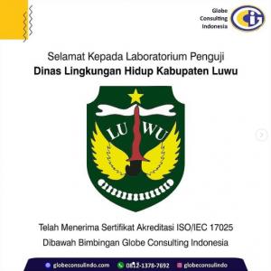 Sertifikat Akreditasi ISO 17025-2017 dari KAN